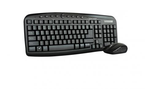 Kit teclado y raton VORAGO KM-303 – Inalambrico – IntUSB