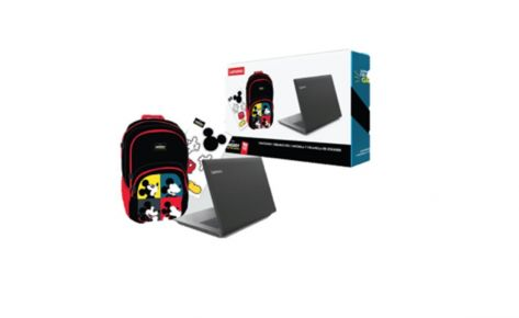 Lenovo One Box Mickey Lap Lenovo Ideapad + Audif + Mochila