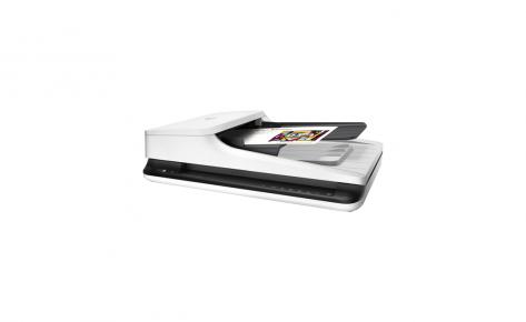 Escáner HP cama plana y ADF ScanJet 2500f1